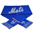 Forever Collectibles MLB New York Mets Woven Metallic Scarf