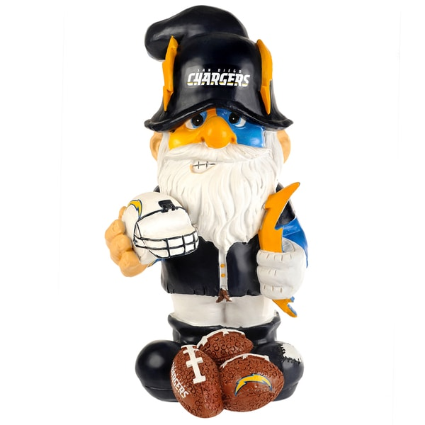 NFL San Diego Chargers 11-inch Thematic Gnome 12055442