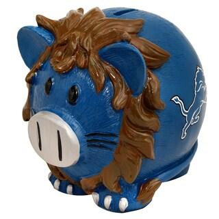 NFL Detroit Lions Thematic Resin Piggy Bank