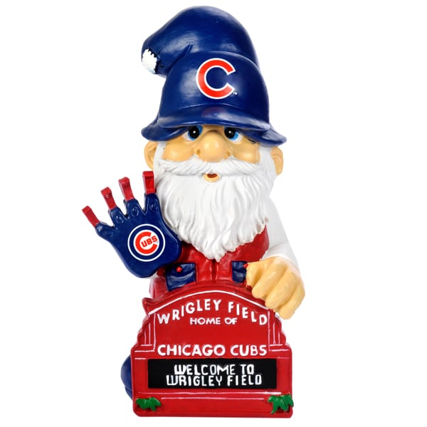 Forever Collectibles MLB Chicago Cubs 11-inch Thematic Gnome 12055474