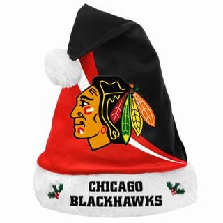 NHL Chicago Blackhawks Polyester Swoop Santa Hat