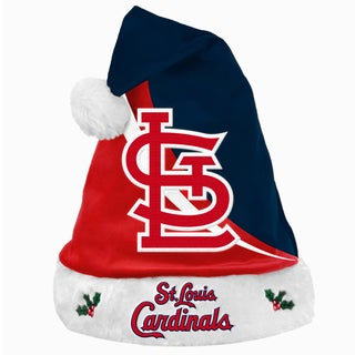 MLB St. Louis Cardinals Polyester Swoop Santa Hat