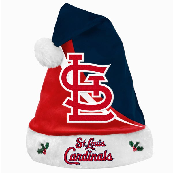 MLB St. Louis Cardinals Polyester Swoop Santa Hat 12055542