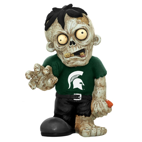 Forever Collectibles NCAA Michigan State Spartans 9-inch Zombie Figurine 12055581