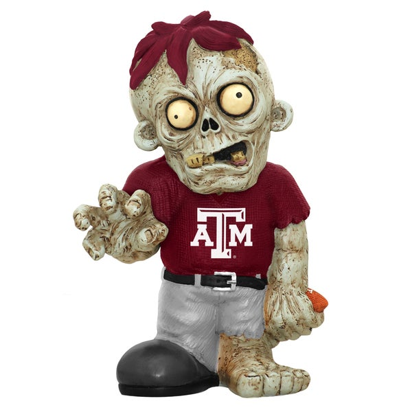 Forever Collectibles NCAA Texas AM Aggies 9-inch Zombie Figurine