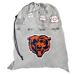 Forever Collectibles NFL Chicago Bears Drawstring Laundry Bag