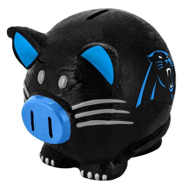 NFL Carolina Panthers Thematic Resin Piggy Bank 12055646