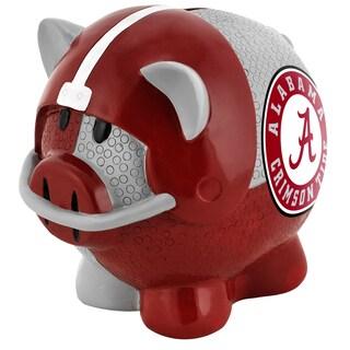 Forever Collectibles NCAA Alabama Crimson Tide Thematic Resin Piggy Bank