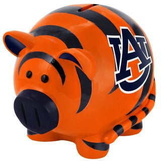 Forever Collectibles NCAA Auburn Tigers Thematic Resin Piggy Bank