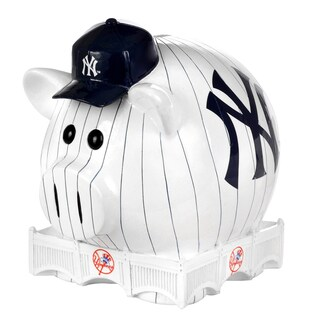 MLB New York Yankees Thematic Resin Piggy Bank