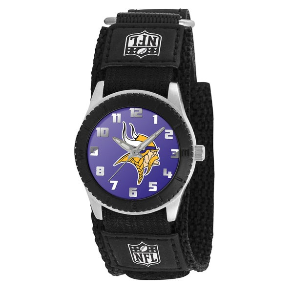 Game Time NFL Minnesota Vikings Black Rookie Series Watch