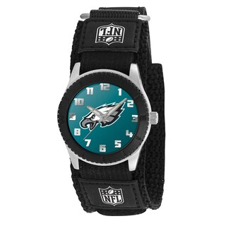Game Time NFL Philadelphia Eagles Black Rookie Series Watch