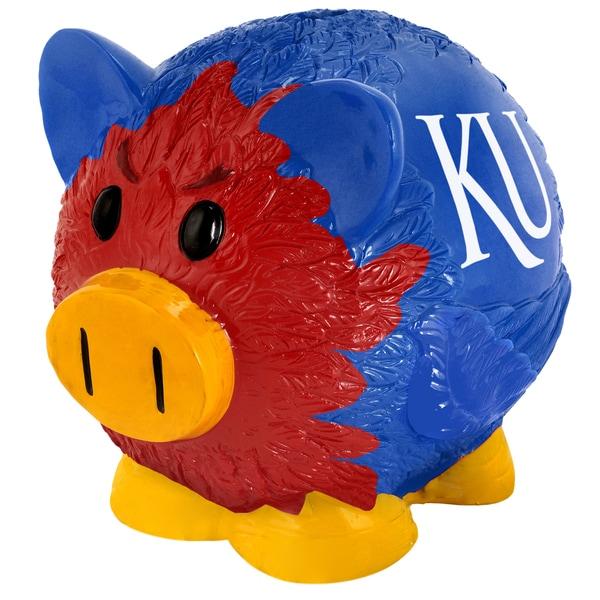 NCAA Kansas Jayhawks Thematic Resin Piggy Bank 12055680