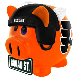 Forever Collectibles NHL Philadelphia Flyers Thematic Resin Piggy Bank