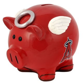 Forever Collectibles MLB Los Angeles Angels Thematic Resin Piggy Bank