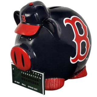Forever Collectibles MLB Boston Red Sox Thematic Resin Piggy Bank