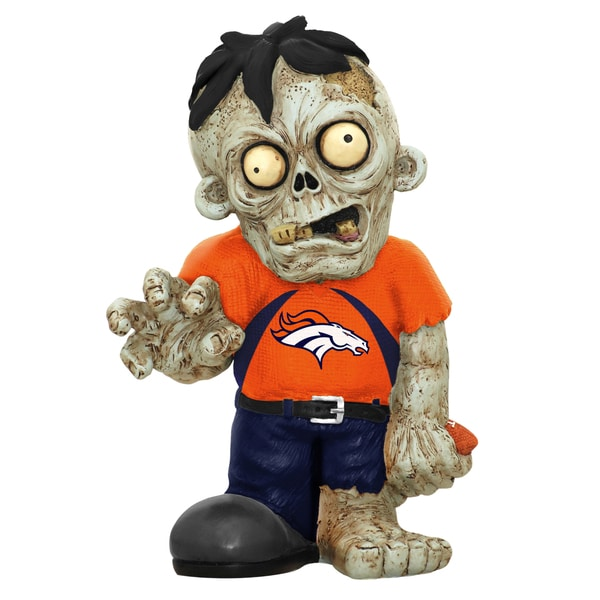 NFL Denver Broncos 9-inch Zombie Figurine 12055730
