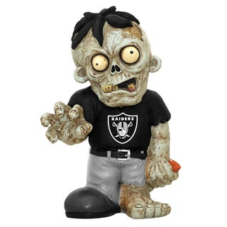 Forever Collectibles NFL Oakland Raiders 9-inch Zombie Figurine
