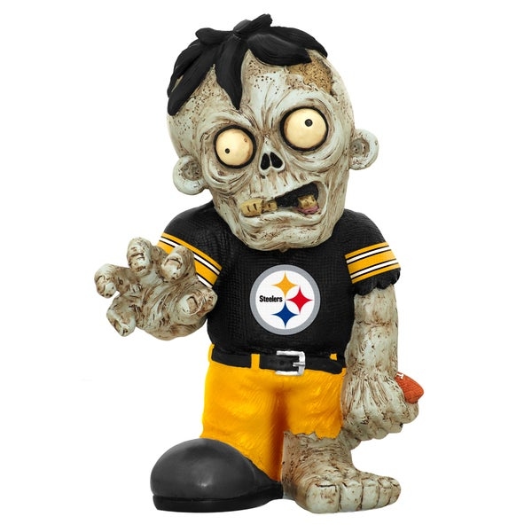 NFL Pittsburgh Steelers 9-inch Zombie Figurine 12055735