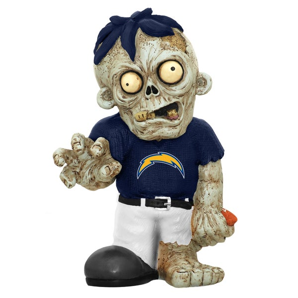 Forever Collectibles NFL San Diego Chargers 9-inch Zombie Figurine 12055744