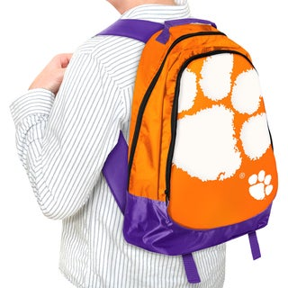 Forever Collectibles NCAA Clemson Tigers 19-inch Structured Backpack