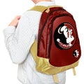 NCAA Florida State Seminoles 19-inch Structured Backpack