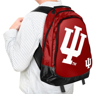 Forever Collectibles NCAA Indiana Hoosiers 19-inch Structured Backpack