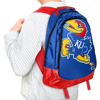 Forever Collectibles NCAA Kansas Jayhawks 19-inch Structured Backpack