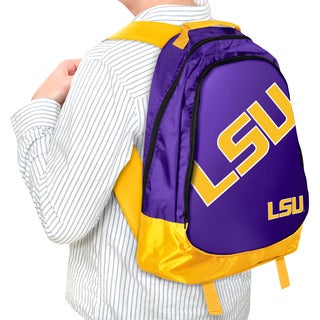 Forever Collectibles NCAA LSU Tigers 19-inch Structured Backpack