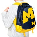 NCAA Michigan Wolverines 19-inch Structured Backpack