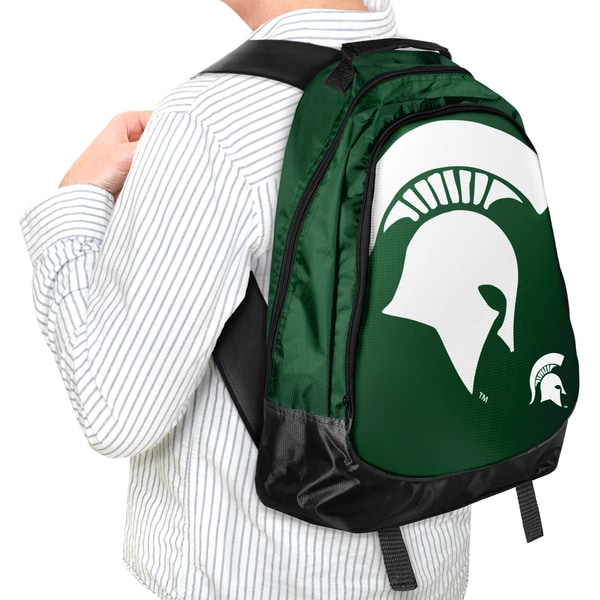 Forever Collectibles NCAA Michigan State Spartan 19-inch Structured Backpack 12055767