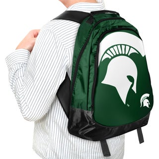 Forever Collectibles NCAA Michigan State Spartan 19-inch Structured Backpack