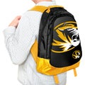 Forever Collectibles NCAA Missouri Tigers 19-inch Structured Backpack