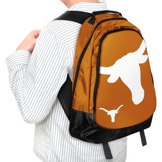 Forever Collectibles NCAA Texas Longhorns 19-inch Structured Backpack