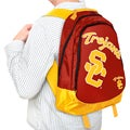 NCAA USC Trojans 19-inch Structured Backpack