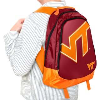 Forever Collectibles NCAA Virginia Tech Hokies 19-inch Structured Backpack
