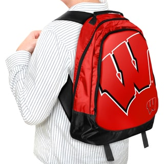 Forever Collectibles NCAA Wisconsin Badgers 19-inch Structured Backpack