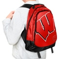 NCAA Wisconsin Badgers 19-inch Structured Backpack