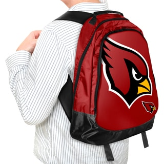 Forever Collectibles NFL Arizona Cardinals 19-inch Structured Backpack