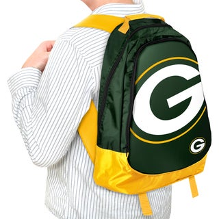 Forever Collectibles NFL Green Bay Packers 19-inch Structured Backpack