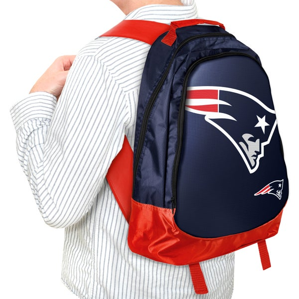 Forever Collectibles NFL New England Patriots 19-inch Structured Backpack