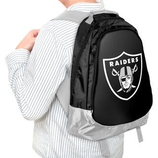 Forever Collectibles NFL Oakland Raiders 19-inch Structured Backpack