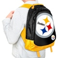 NFL Pittsburgh Steelers 19-inch Structured Backpack