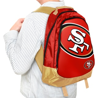 Forever Collectibles NFL San Francisco 49ers 19-inch Structured Backpack