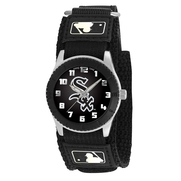 Game Time MLB Chicago White Sox Black Rookie Series Watch