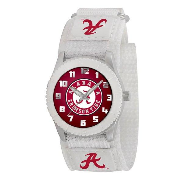 Game Time NCAA Alabama Crimson Tide White Rookie Series Watch