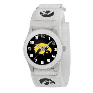 Game Time NCAA Iowa Hawkeyes White Rookie Series Watch