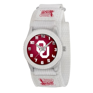 Game Time NCAA Oklahoma Sooners White Rookie Series Watch
