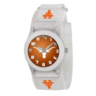 Game Time NCAA Texas Longhorns White Rookie Series Watch