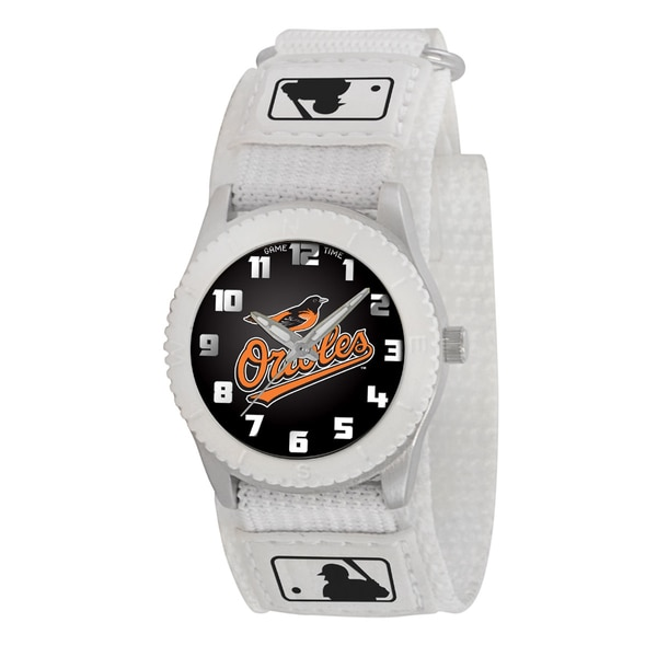 Game Time MLB Baltimore Orioles White Rookie Series Watch